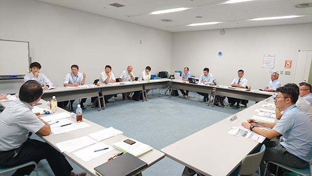 第2期スポーツと地域活性化の好循環創出事業連携促進会議の様子